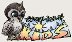 Logo for Sonoran Desert Kids Club, shows an owl and the kid's club name